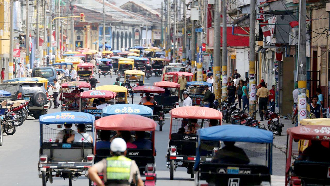 Cómo movilizarse dentro de Iquitos
