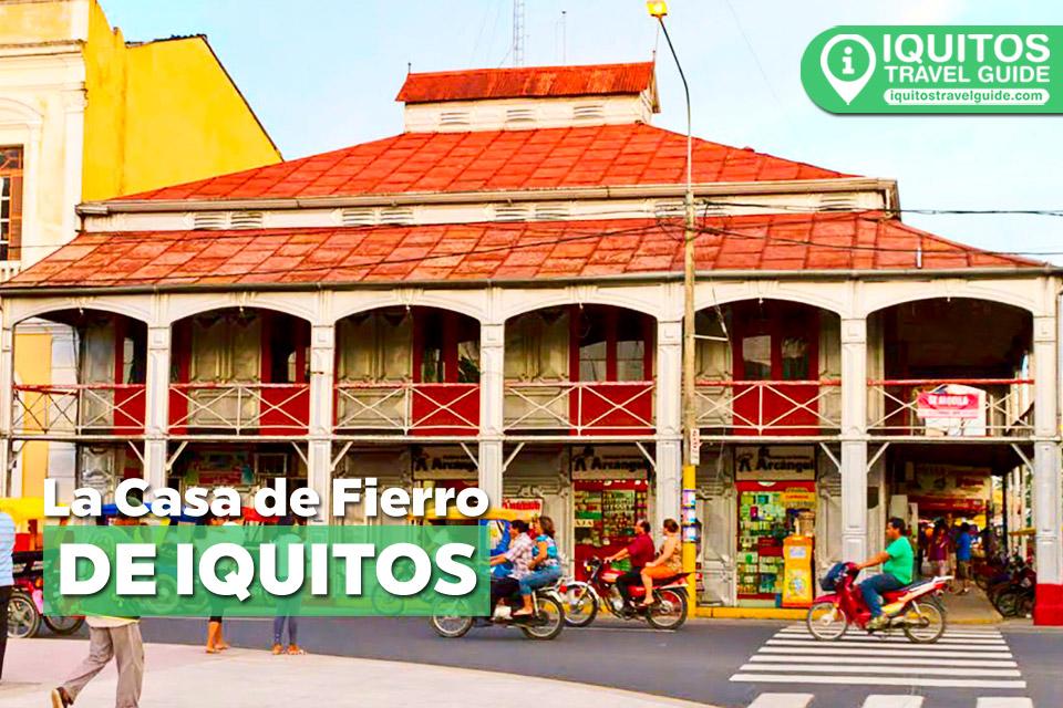 La Casa de Fierro de Iquitos
