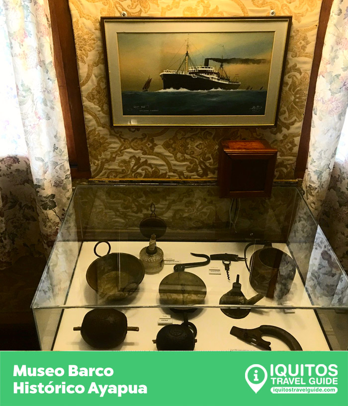 Museo del Barco Histórico Ayapua Iquitos