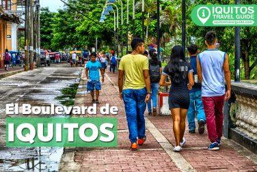 El Boulevard de Iquitos