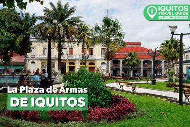 La Plaza de Armas de Iquitos