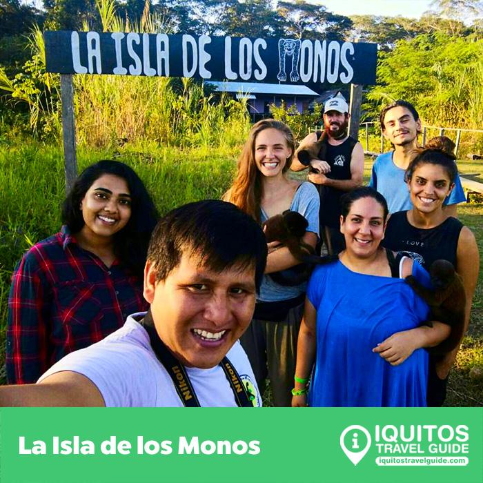 La Isla de los Monos en Iquitos