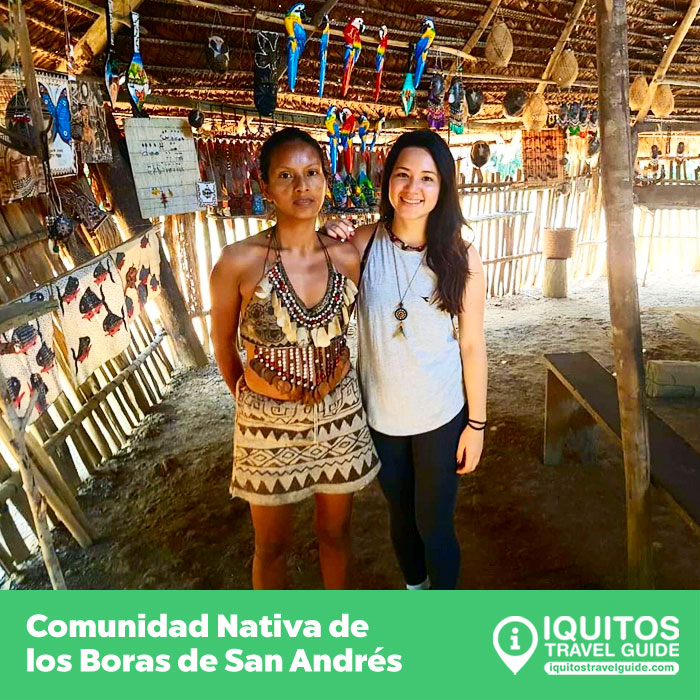 Comunidad Nativa de los Boras de San Andrés en Iquitos