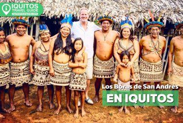 La comunidad nativa de Los Boras de San Andrés