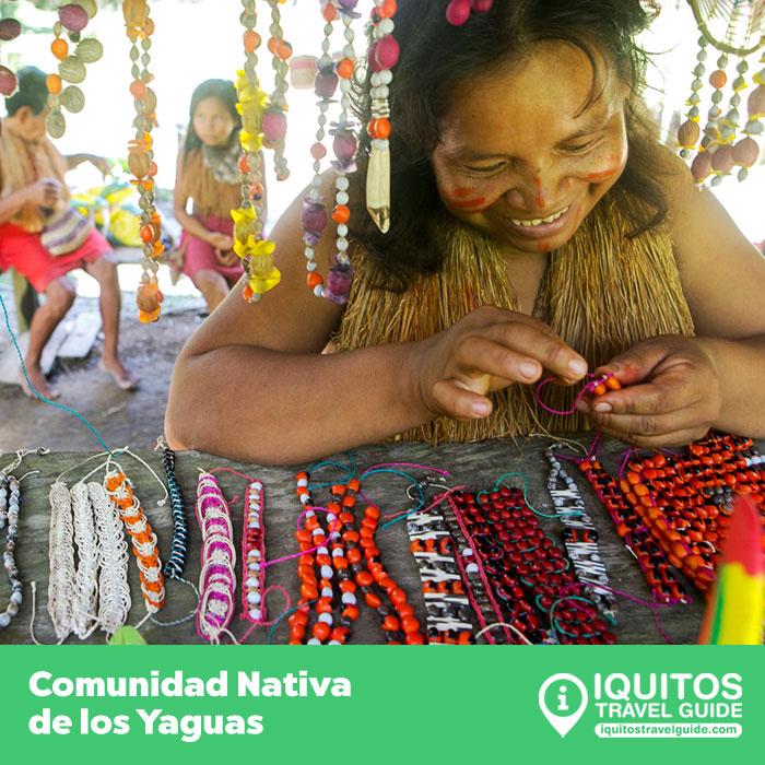 La comunidad nativa de Los Yaguas en Iquitos