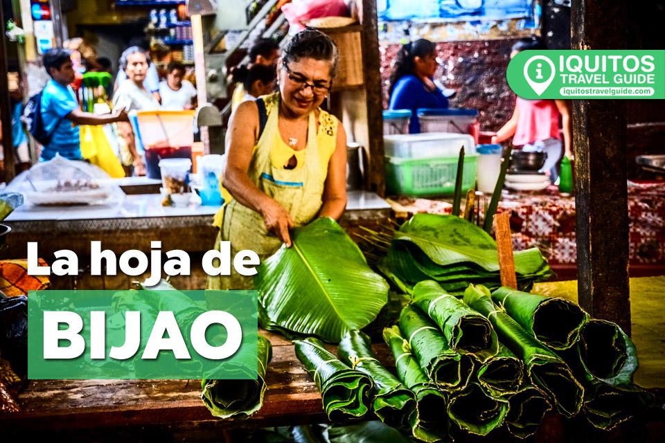 La Hoja de Bijao, el secreto de la Gastronomía de la selva peruana