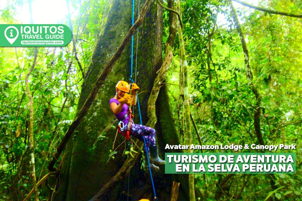 Avatar Amazon Lodge & Canopy Park: el mejor lugar para hacer turismo de aventura en la selva peruana