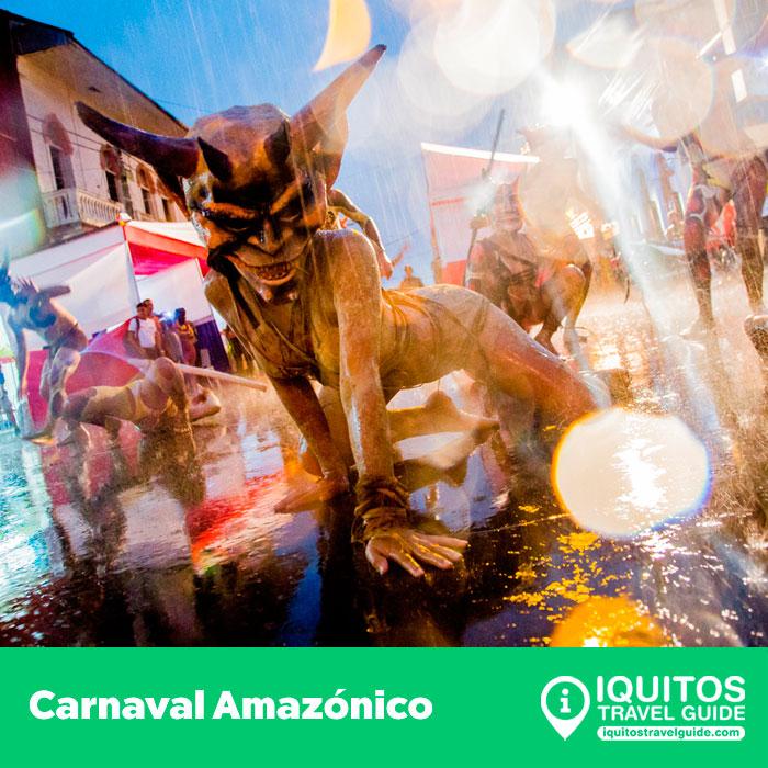 El Carnaval Amazónico en Iquitos