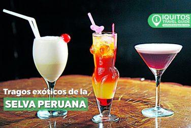 Tragos exóticos y afrodisiacos de la selva peruana