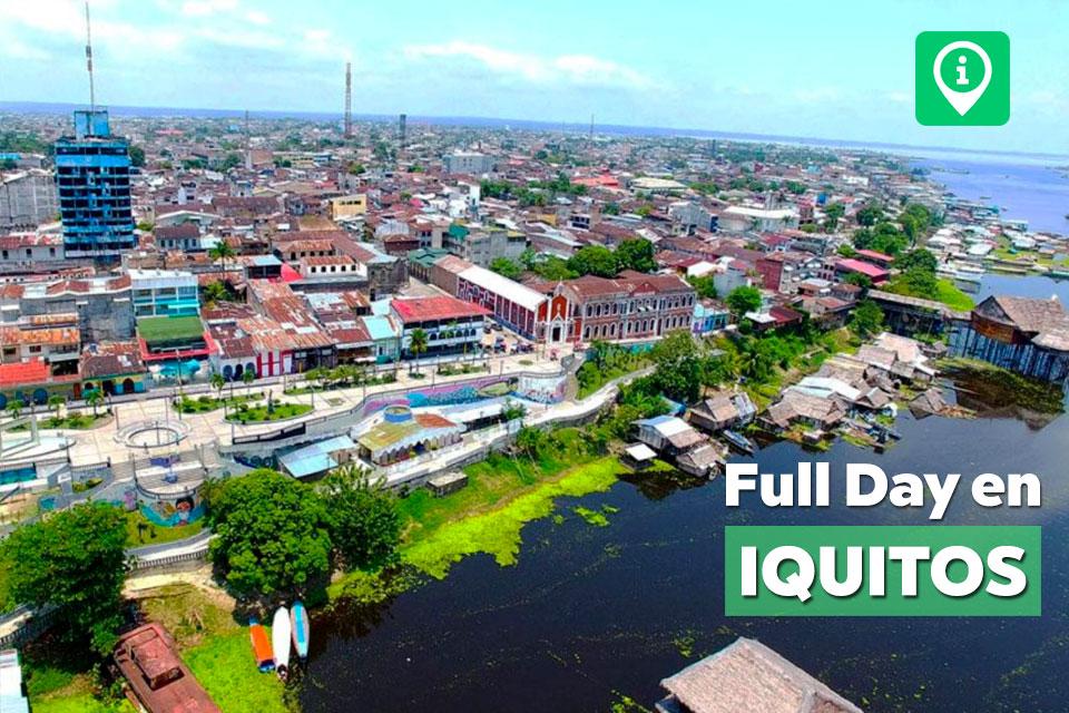 Tour en Iquitos | Full Day en el río Amazonas